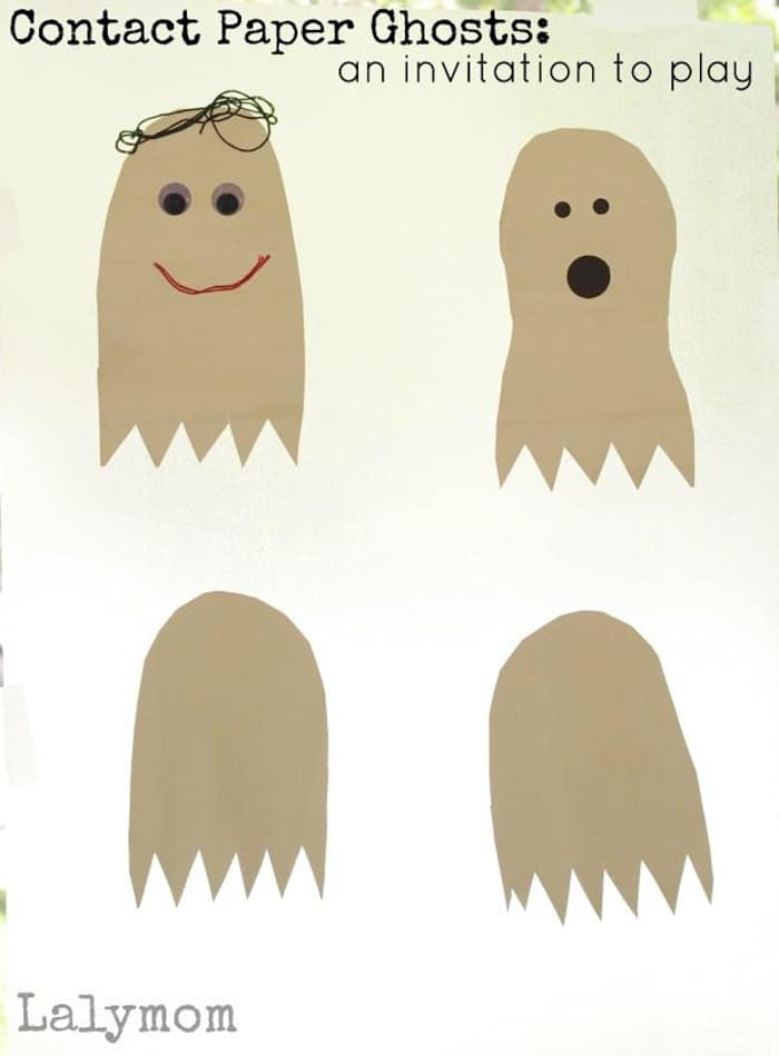 Contact Paper Ghosts