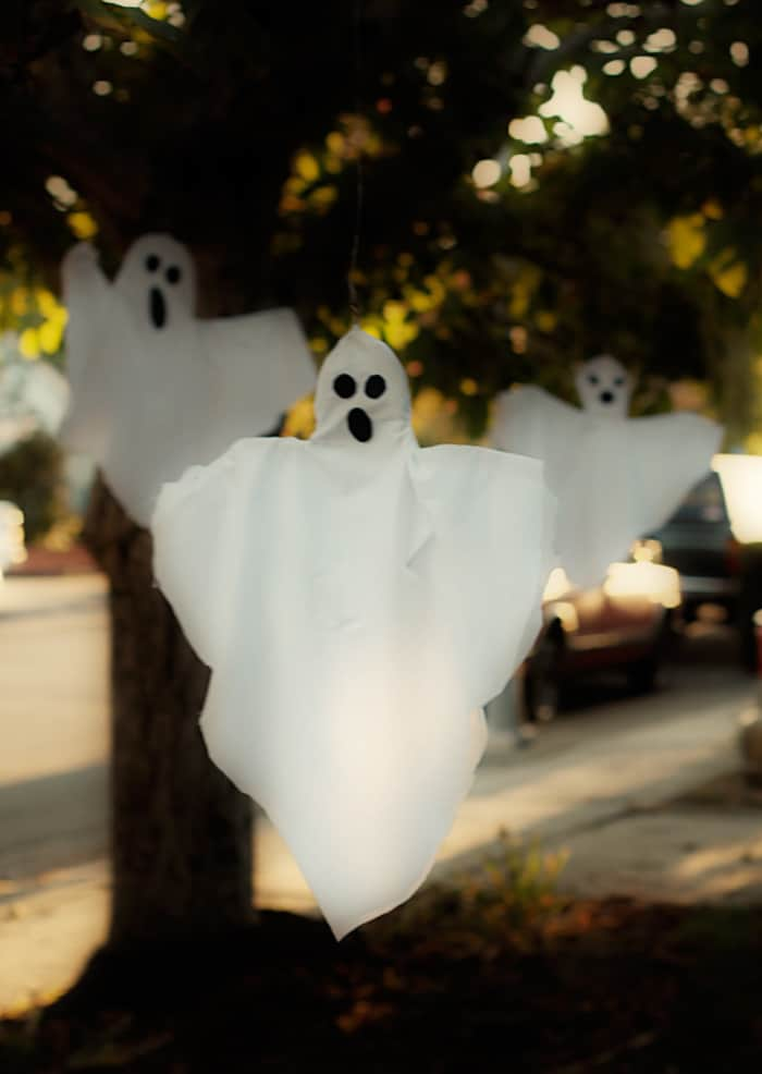 Outdoor Floating Ghosts