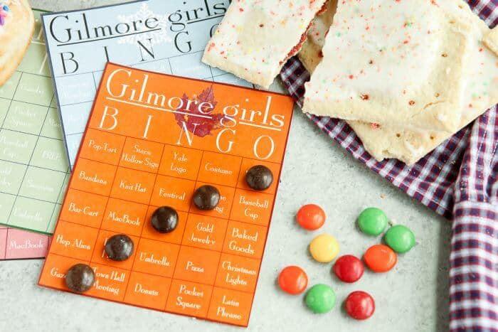 Gilmore Girls Dessert Sushi | Gilmore Girls Party | Read like Rory Shirts | Pop Tart Recipes | Sookie's Blueberry Shortcake | Gilmore Girls Drinking Game | Candy Sushi | Rice crispy treat dessert ideas | www.madewithhappy.com