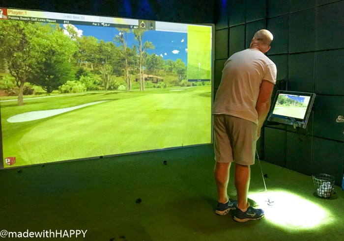 Golf Simulator on the Disney Dream. What is really like on a Disney WDW Cruise. Answering questions about Disney Cruise and the Disney Dream. What to expect on a Disney Cruise. The Disney Cruise as a family of four!