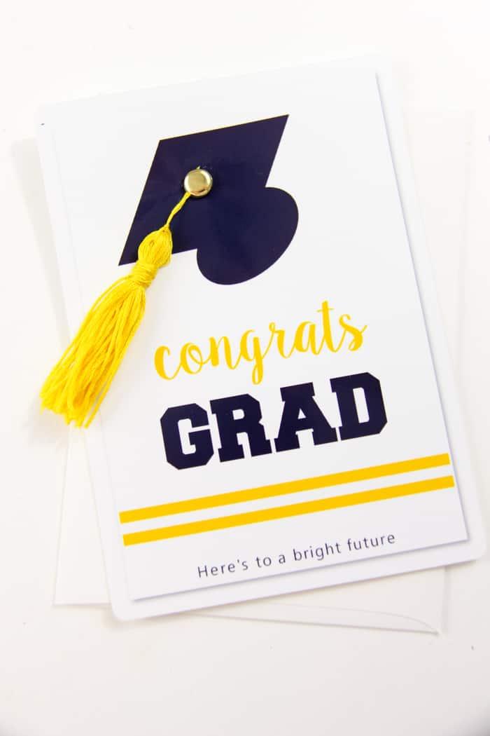 Graduation Card with Tassel