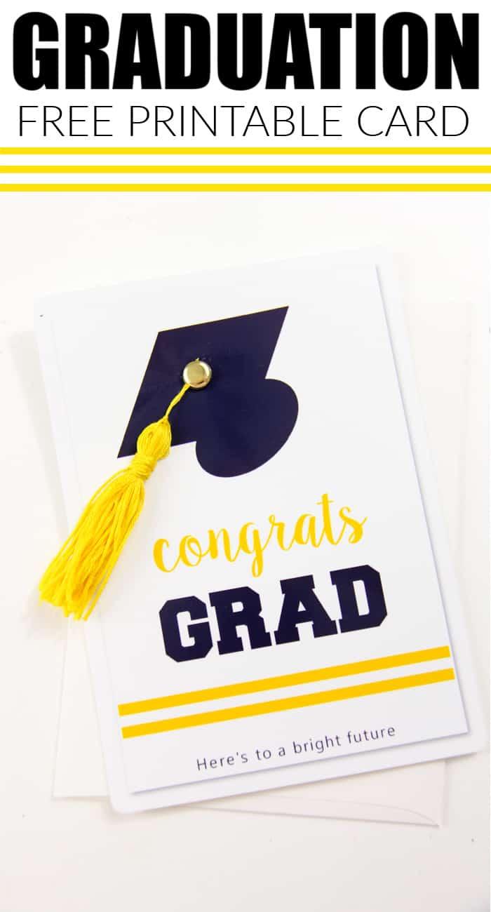Graduation Card Free pritnable