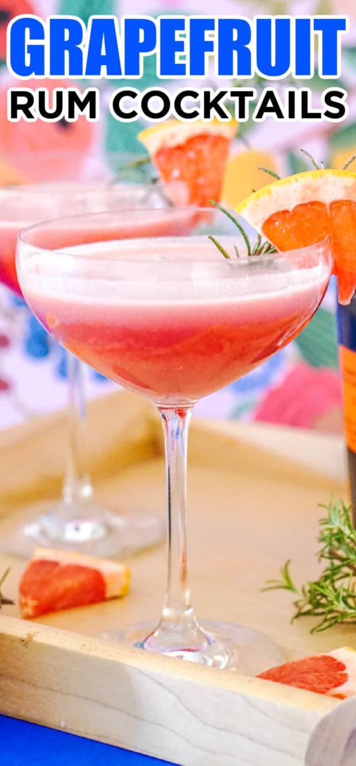 rum grapefruit drink