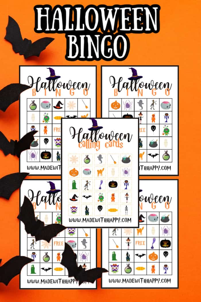 Halloween Bingo For kids