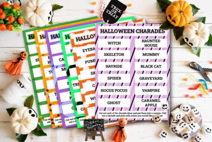 halloween charades ideas