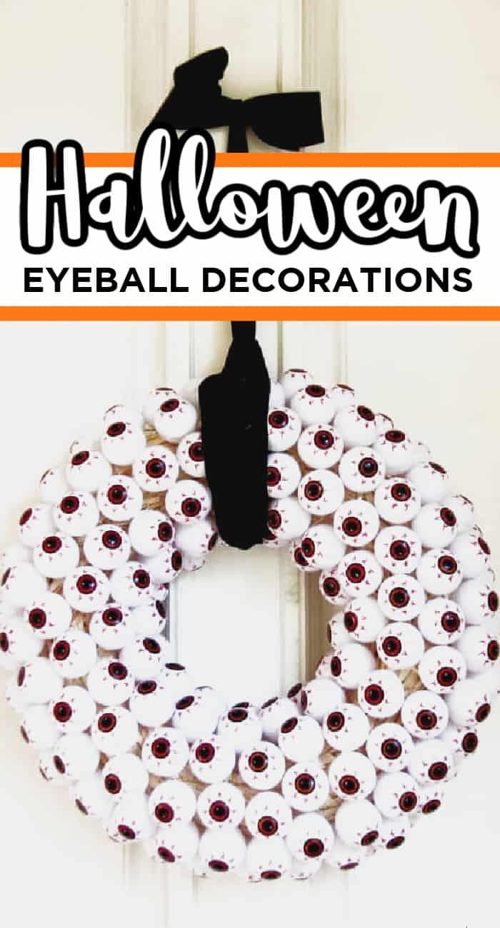 Halloween Eyeball Decorations