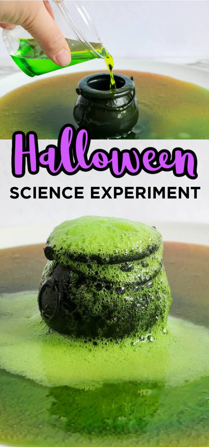 Kids Halloween Science Experiement