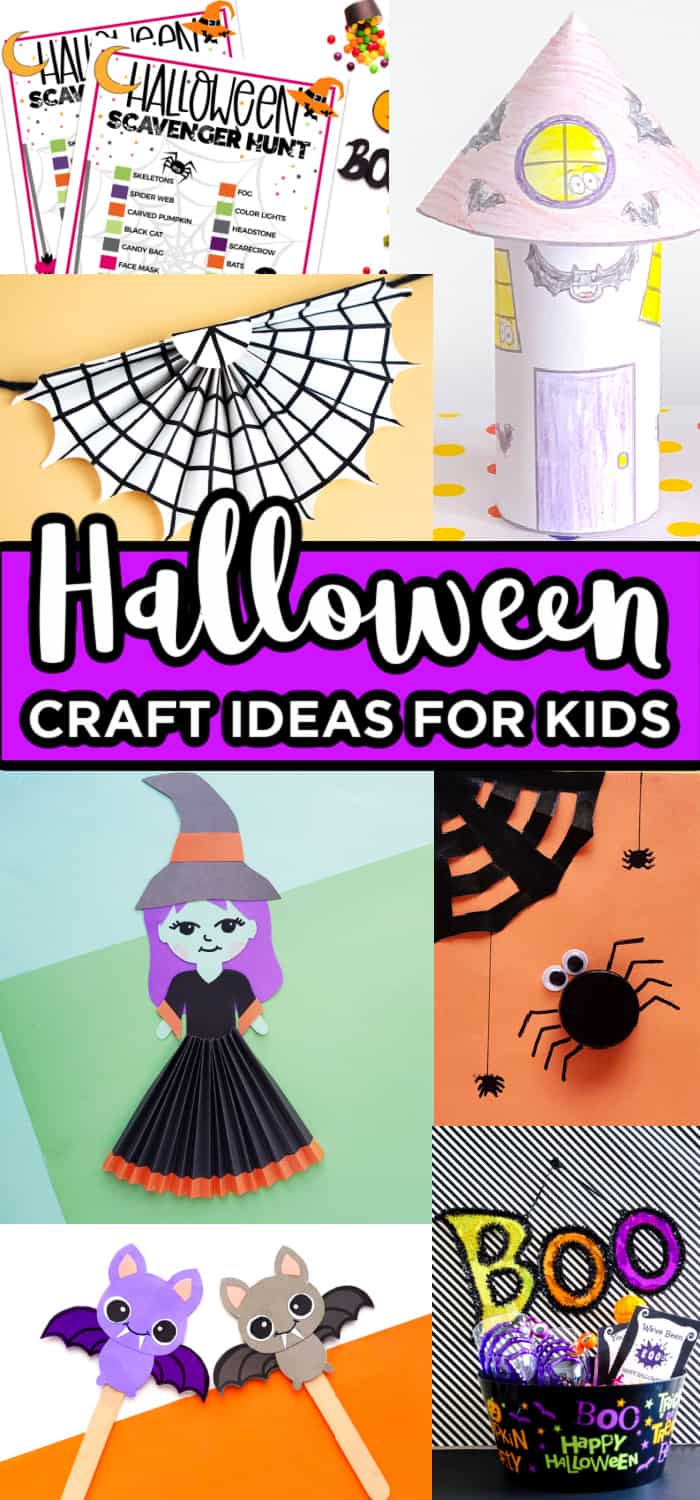 Kids crafts for Halloween