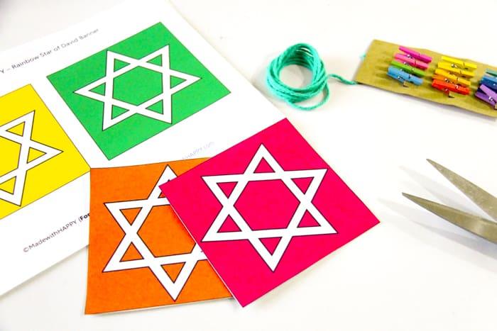 Indoor Hanukkah Decoration