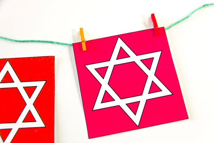 Free Printable Hanukkah Decor