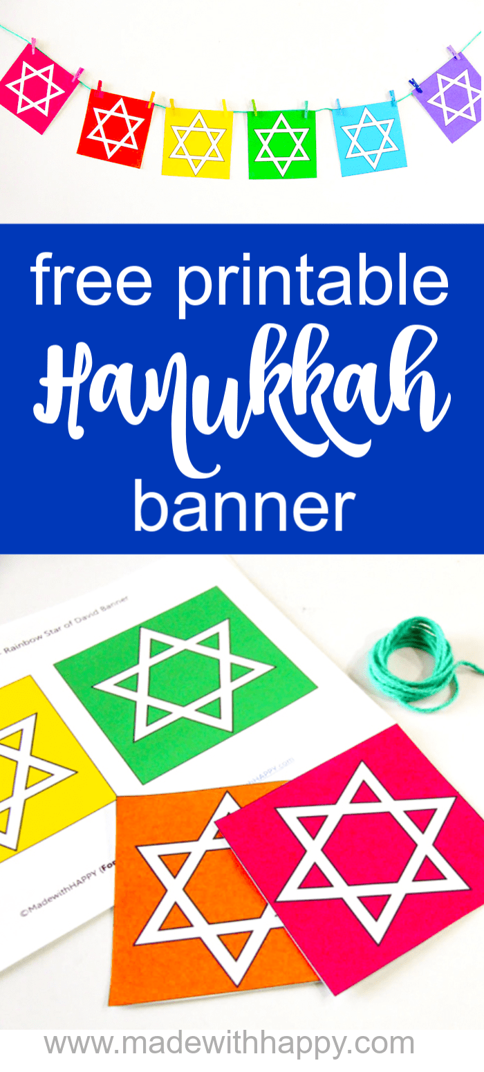 Colorful Hanukkah Decoration Ideas