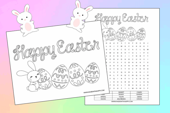 Free Coloring Pages For Kids This Easter