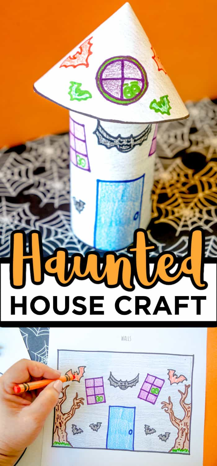 Halloween Coloring Craft