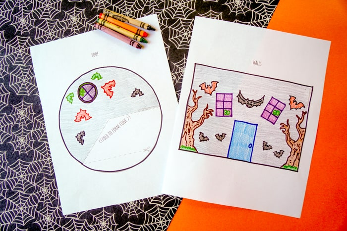 crayons and printable craft