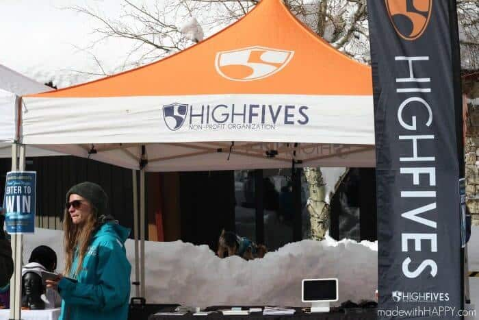 High Fives Foundations Fundraiser | Squaw Valley | Helmets Are Cool Event | www.madewithhappy.com
