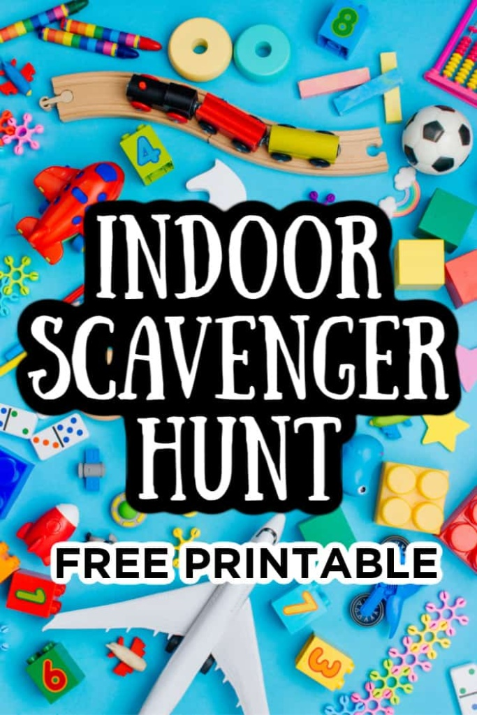 Free Printable Indoor Scavenger Hunt