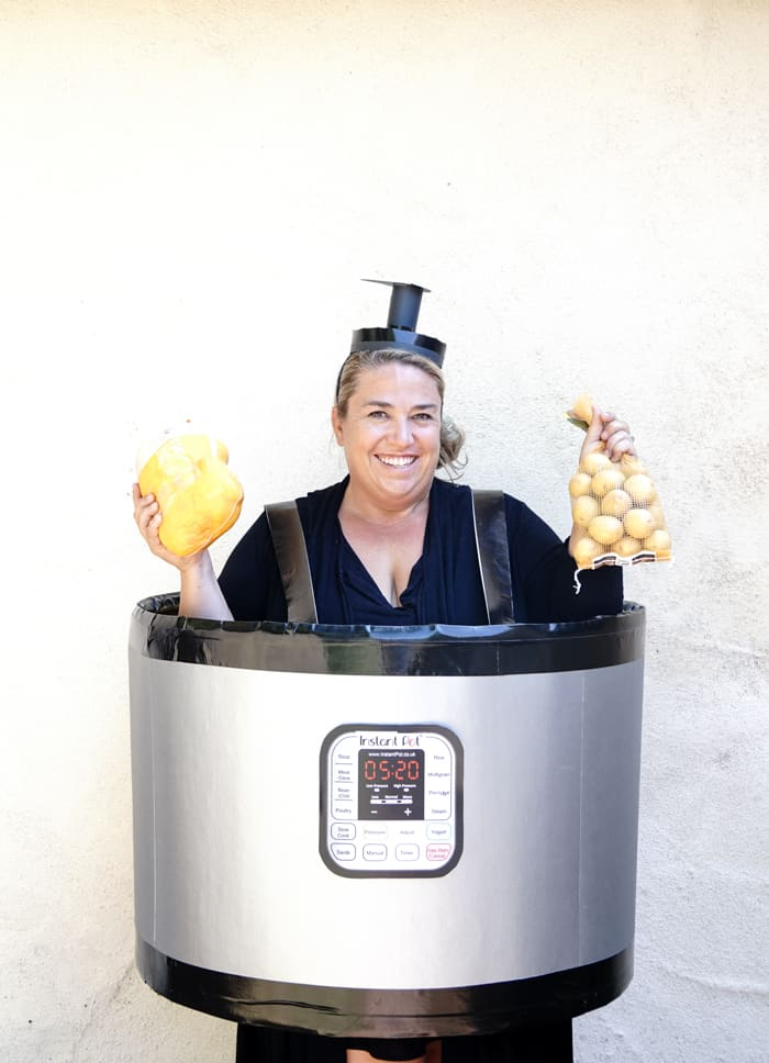 Food Costume Ideas. DIY Instant Pot Costume. Easy DIY Costumes for Halloween. Halloween Costume Ideas DIY. Do it yourself Halloween Costumes just in time for your costume party.