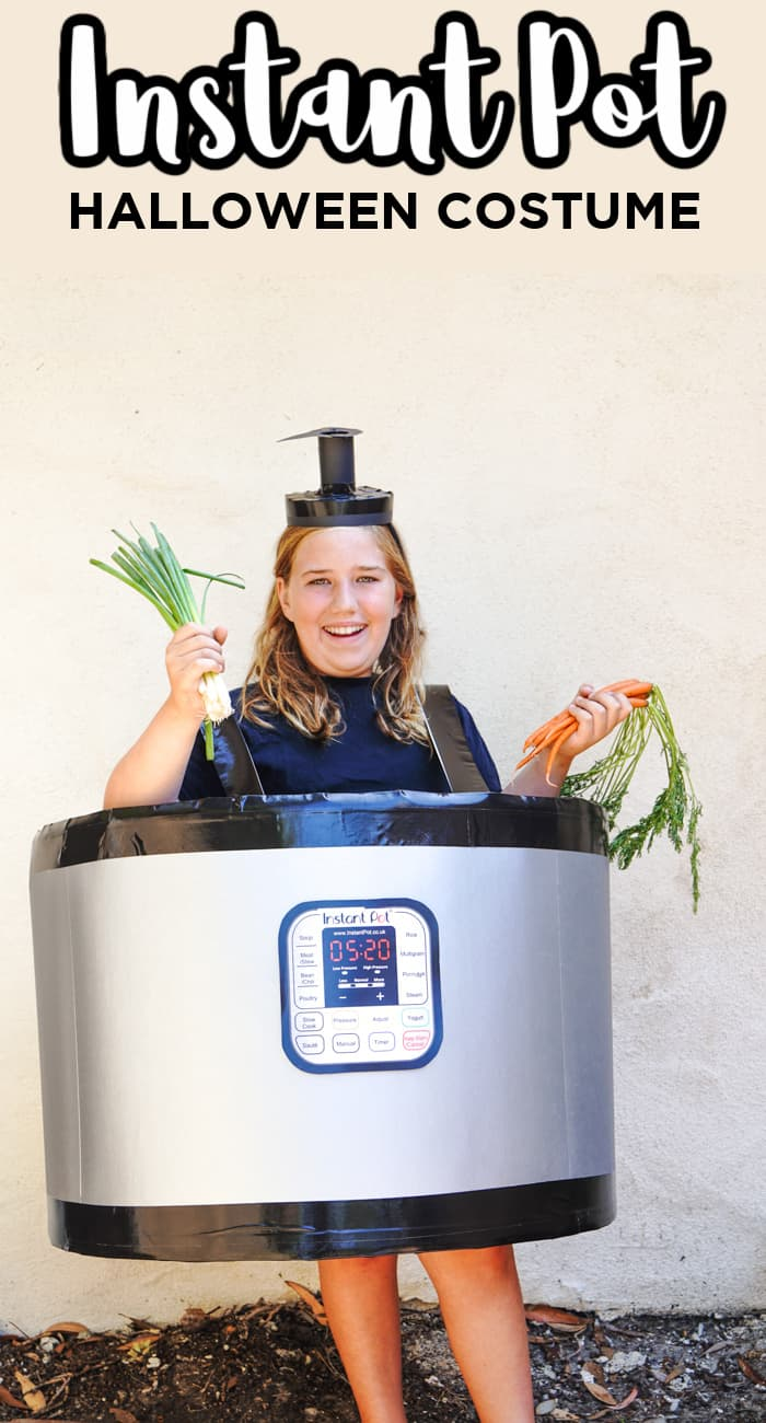 Instant Pot Halloween Costume DIY