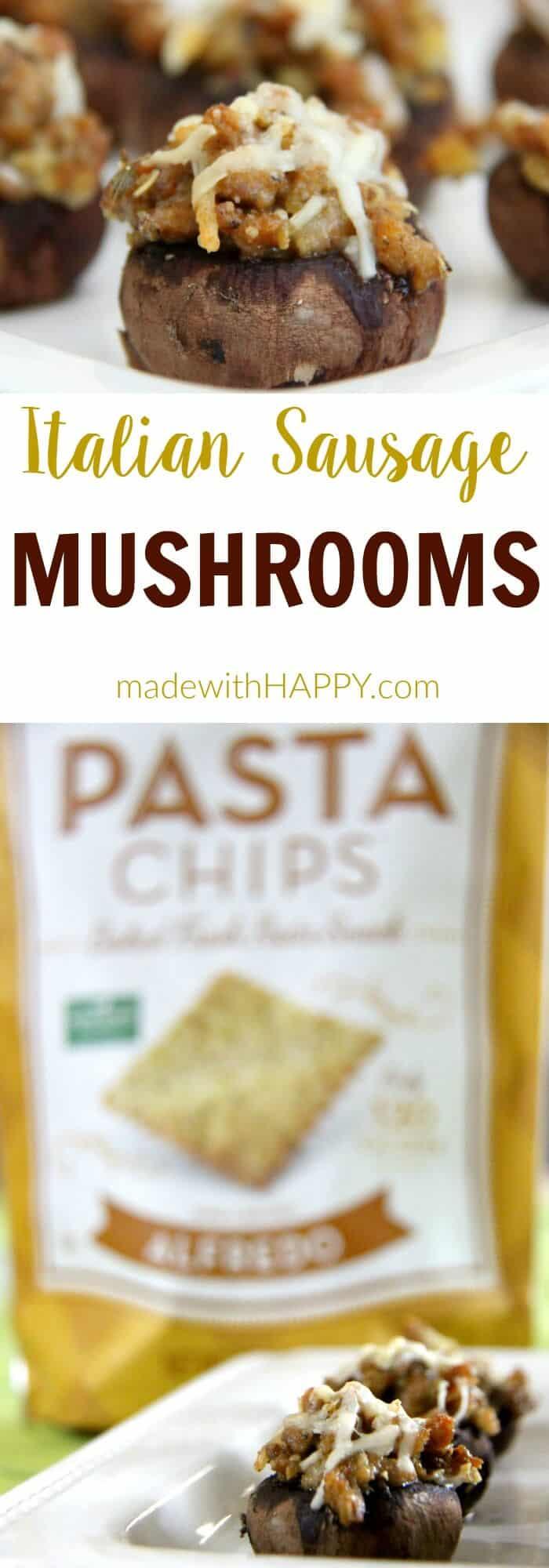 Italian-Sausage-Stuffed-Mushrooms-4