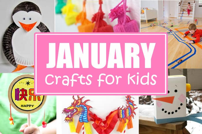 Winter Crafts For Kids in January