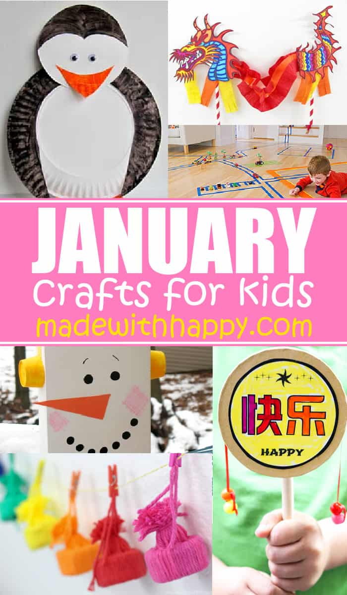 Crafts for Kids in January