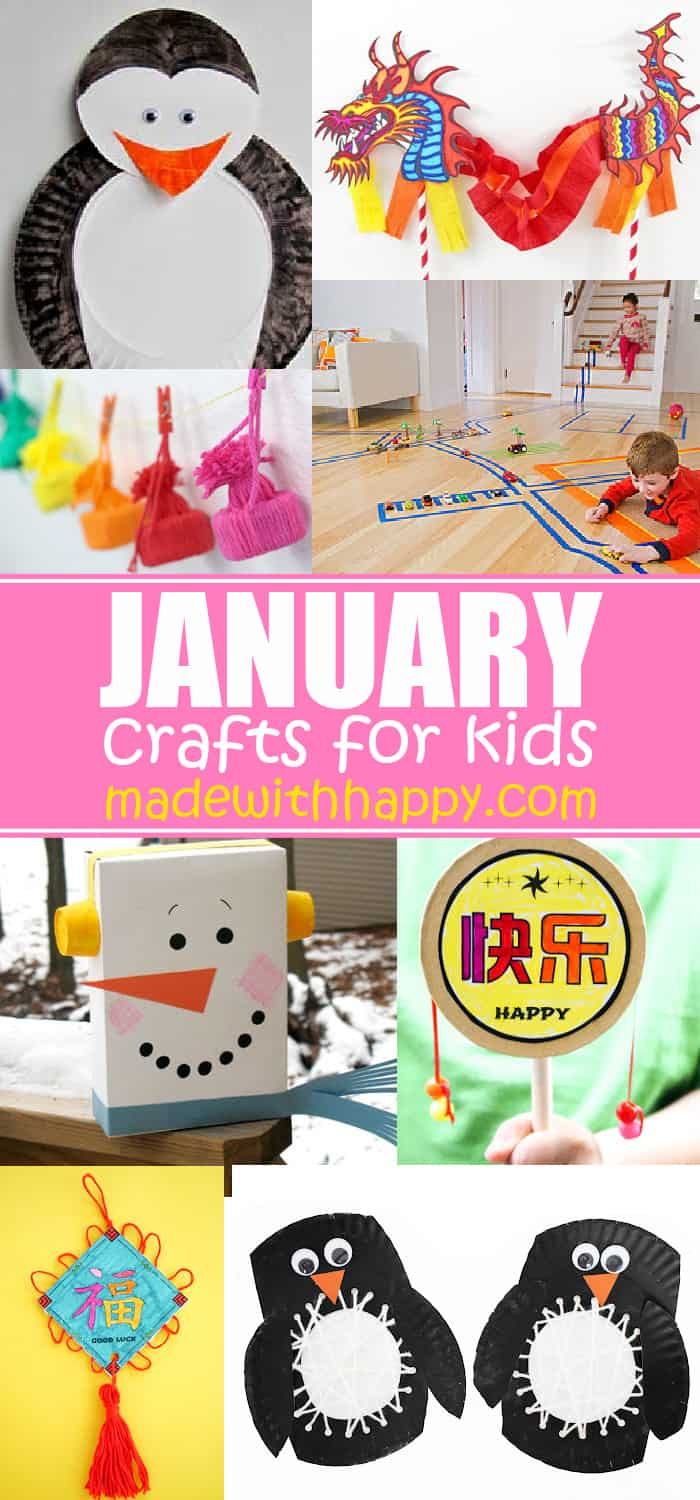 January Crafts