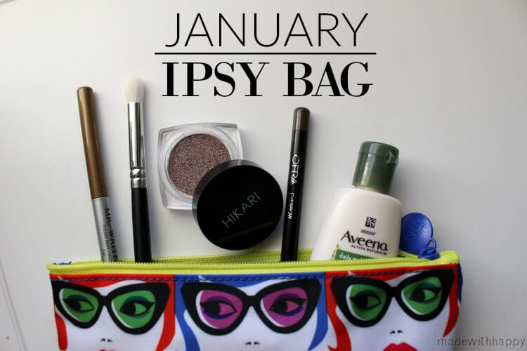 Ipsy Beauty Bag Review | www.madewithHAPPY.com
