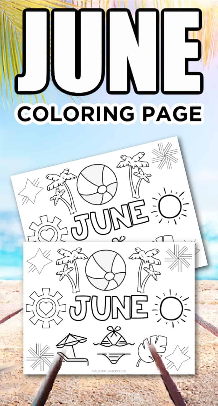 Coloring Pages For Kids - Summer