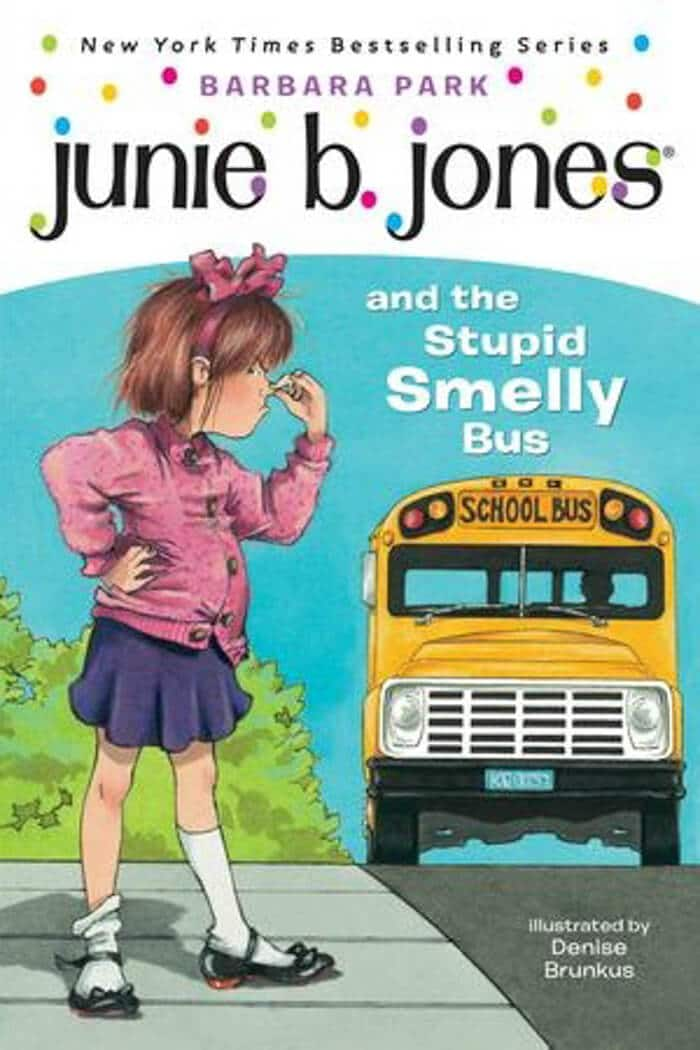 Junie B. Jones. Top 10 Chapter Books for young readers. We're sharing our top picks for young readers that are looking for some great chapter books. www.madewithhappy.com