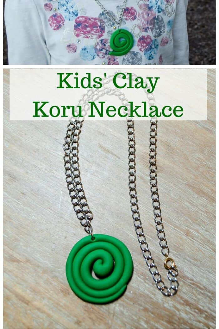 New Zealand - Clay Koru Necklace - Albion Gould