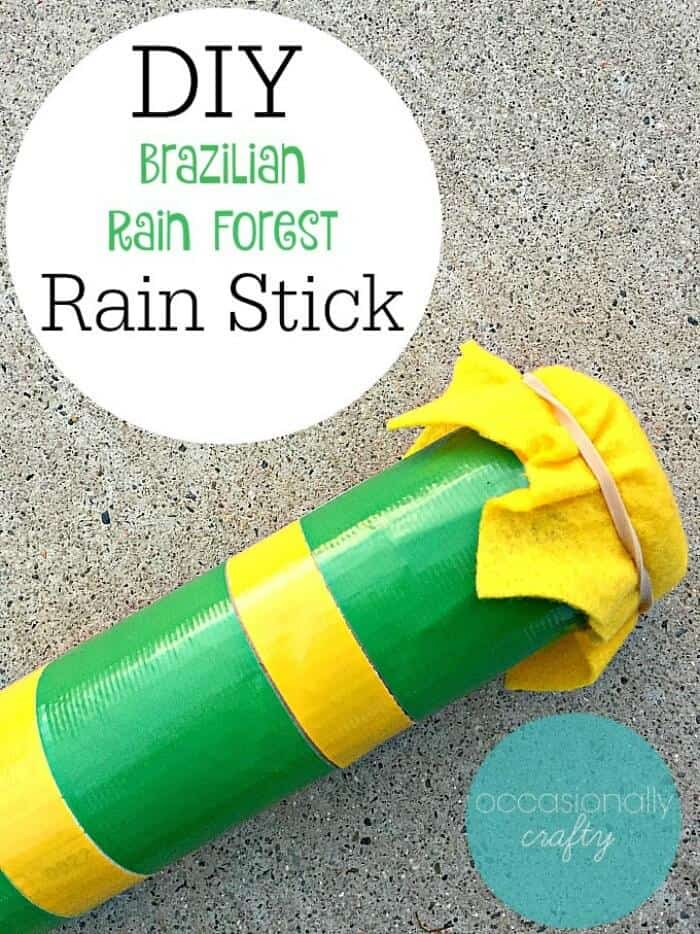 Kids Craft DIY Rain Stick-700