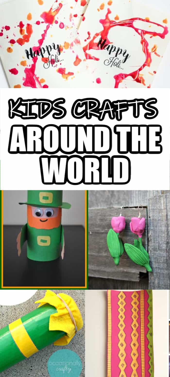 Kids crafts from different cultures