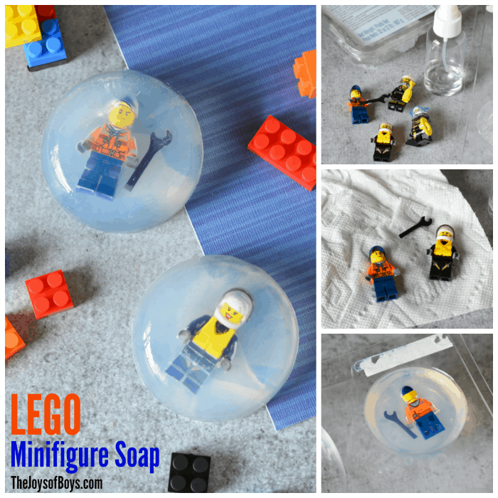 Lego Mini Figure Soap