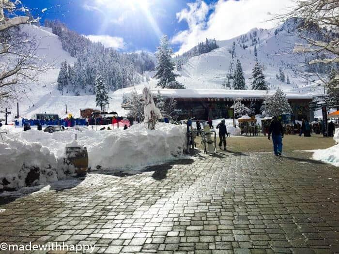 Visiting Squaw Valley Ski Resort - Lake Tahoe.
