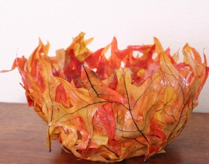 Leaf Bowl {DIY}