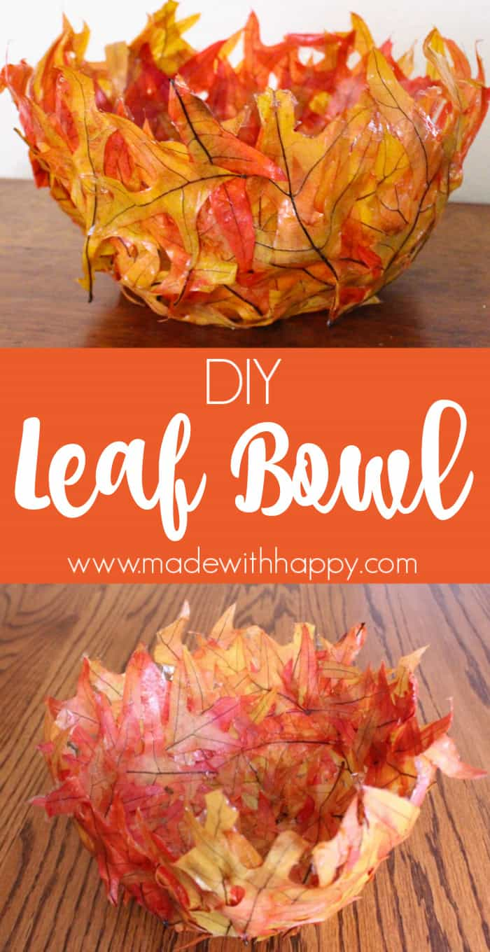 Leaf Bowl DIY
