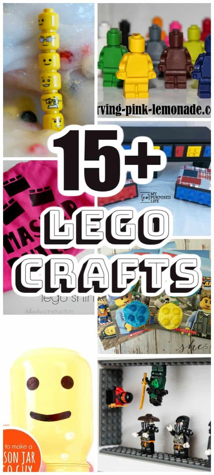 15+ Lego Crafts for Kids