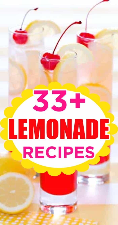 homemade lemonade recipes