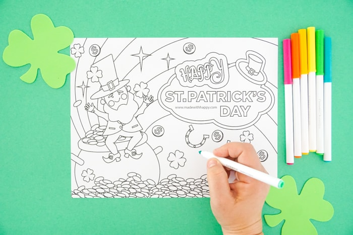 Kids Printable Coloring Page