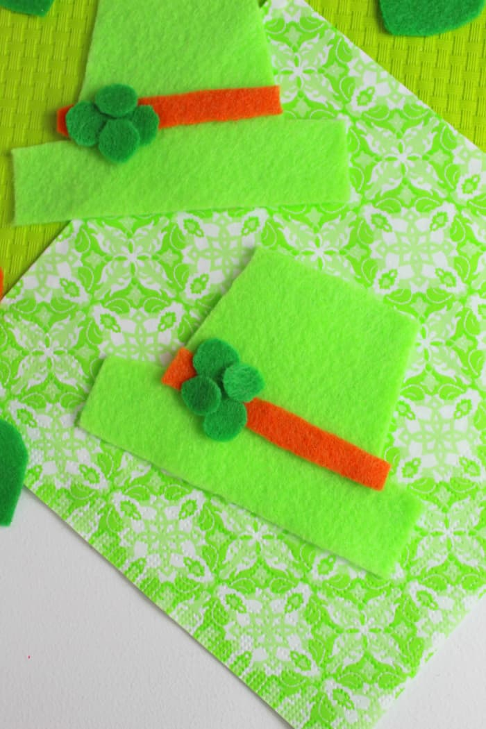 Felt Craft for St. Patrick's Day