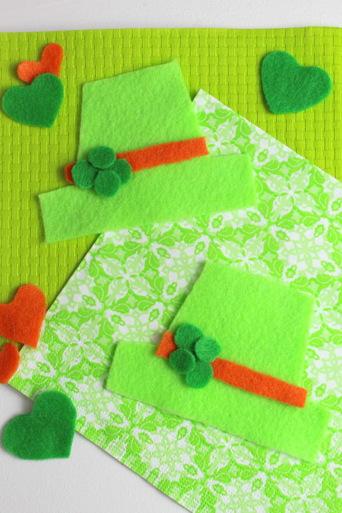 Leprechaun Felt Hat Craft