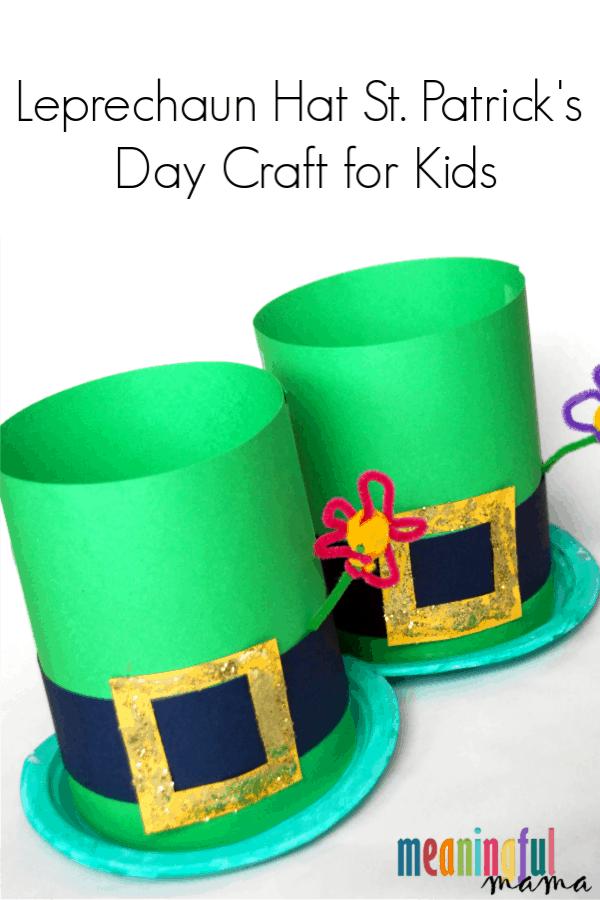 Leprechaun Hat Craft