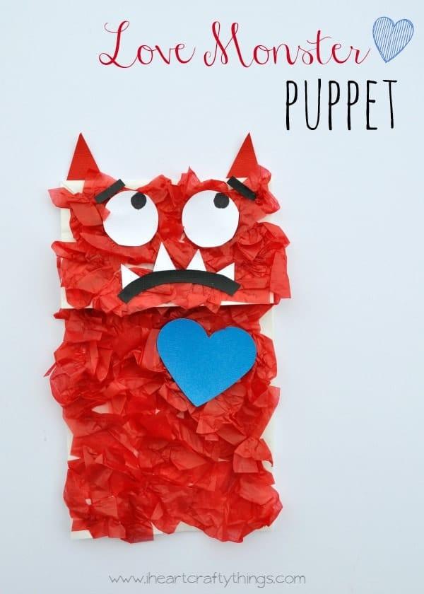 Love Monster Puppet.