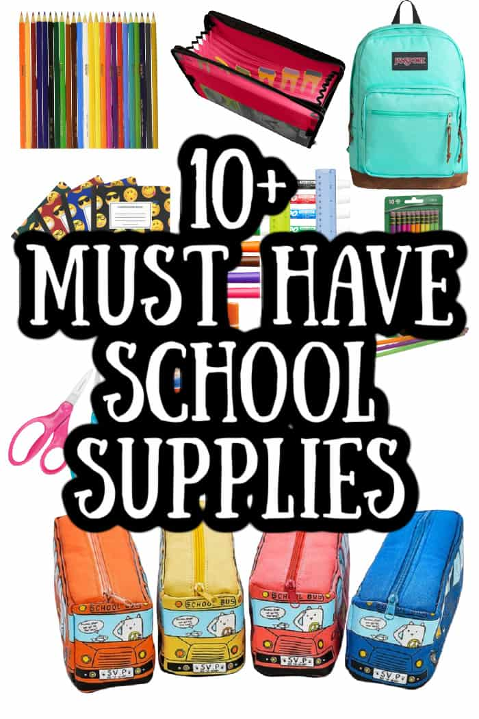 10 Must Have Supplies