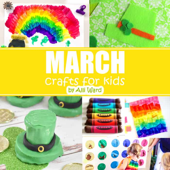 March Crafts For Kids Book