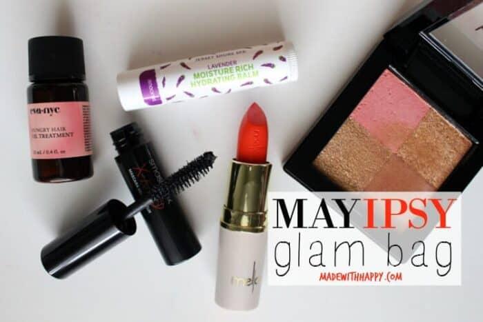 May IPSY Glam Bag