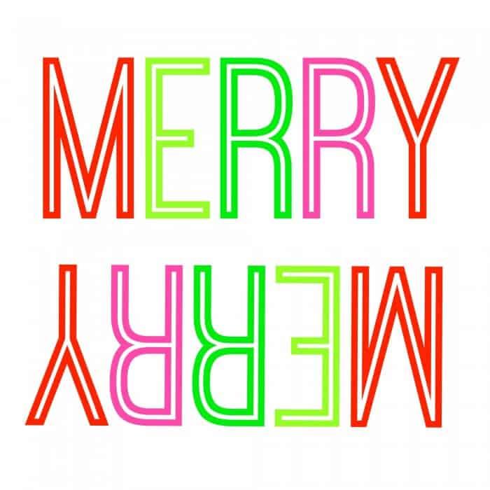 Merry-Merry-Printable