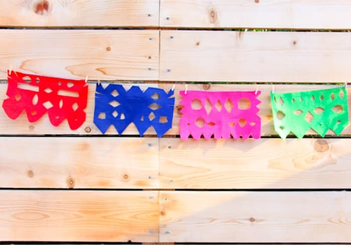 mexican cut paper banners