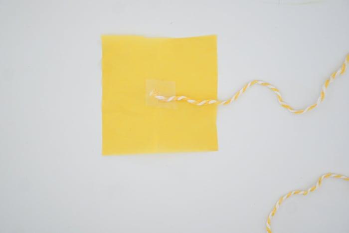 tissue paper square