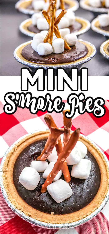 mini S'more pie recipe